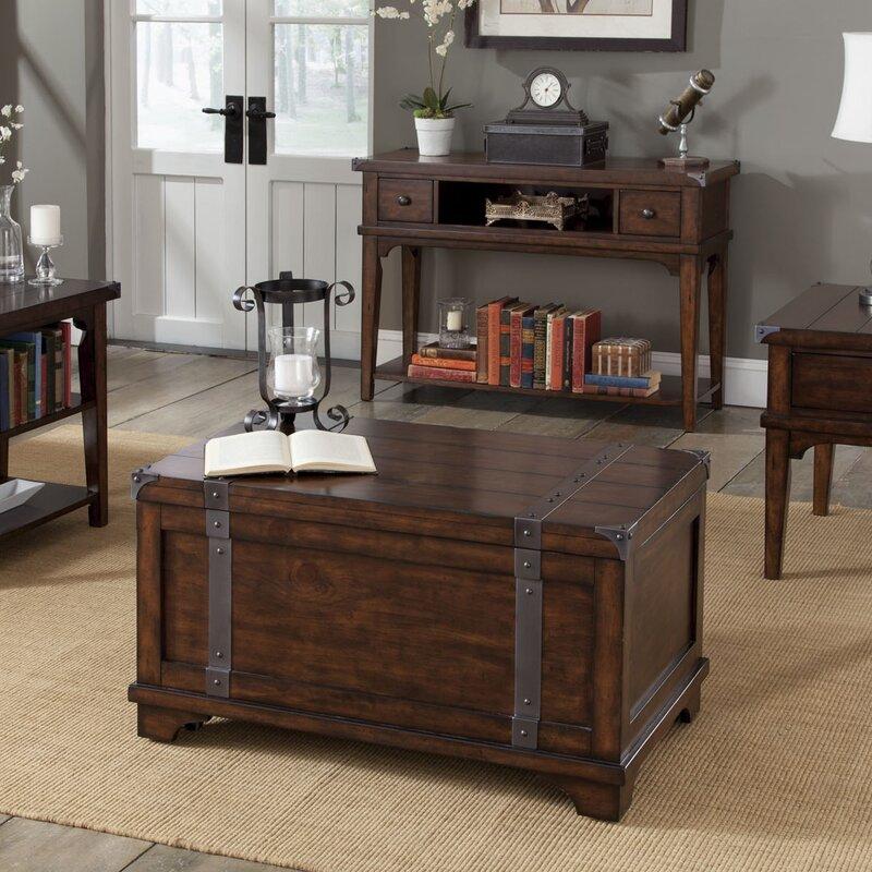trunk table furniture. aubrey storage trunk table furniture