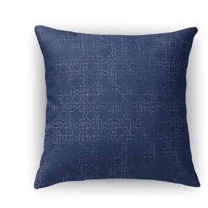 gridlocked accent pillow