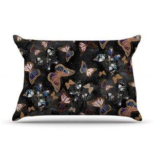 Nikki Strange 'Galactic Butterfly' Pillow Case