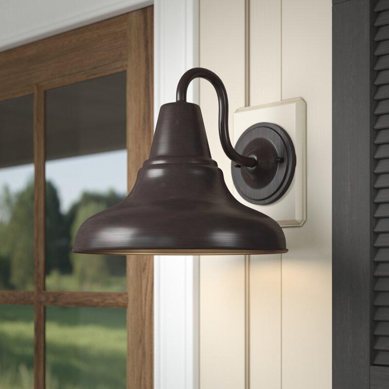 Union Rustic Hailey 1-Light Barn Light & Reviews