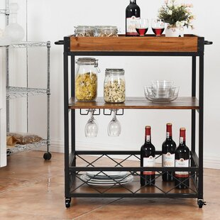 Valentin 3 Tier Rolling Kitchen Cart No Copoun
