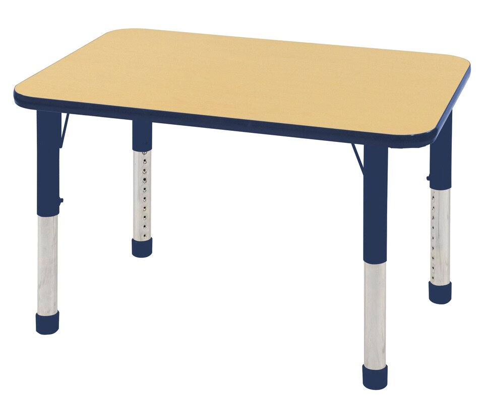 Ecr4kids 36 x 24 rectangular activity table reviews for Table x reviews