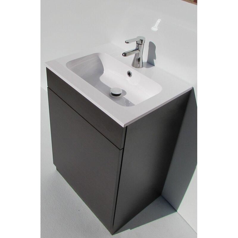 """Acquaviva City1 Mineral Marble 24"""" Single Bathroom Vanity Top"""