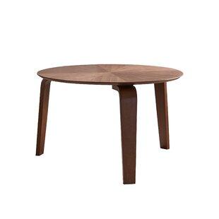 Escamilla Mid-Century Solid Wood Dining Table
