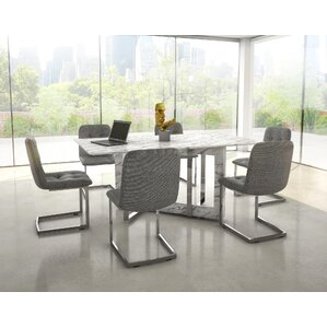 Bruck Contemporary 7 Piece Dining Set by Brayden Studio
