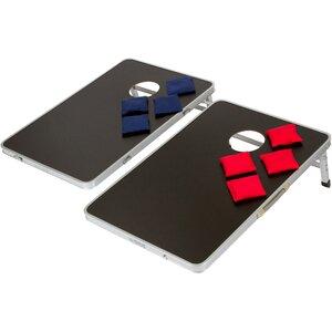 Portable 10 Piece Cornhole Game Set