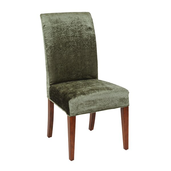your slipcover slipcovers strip chair parsons update