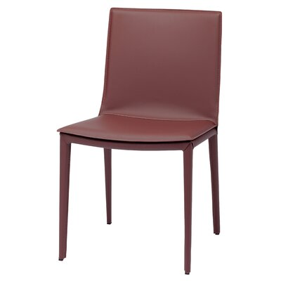 Genuine Leather Kitchen Amp Dining Chairs You Ll Love Wayfair