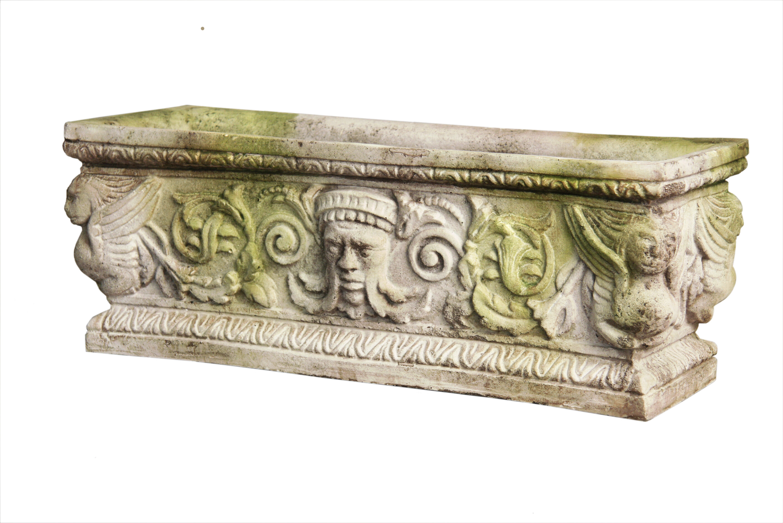 OrlandiStatuary Cast Stone Planter Box