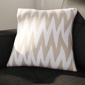 Oretha Chevron Cotton Throw Pillow