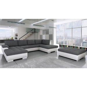 Ecksofa Palaiseau Maxi mit Bettfunktion von Home & Haus