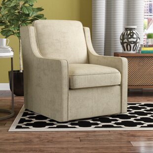 Swivel Chairs Youll Love Wayfair - Curves-button-back-chair-in-chocolate-brown-and-green