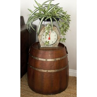 wood barrel furniture. Metal Barrel End Table Wood Furniture