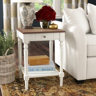 Lark Manor Libourne End Tablewith Storage | Wayfair