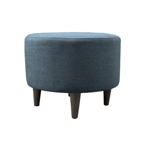 MJL Furniture Allure Sophia Round Standard Ottoman