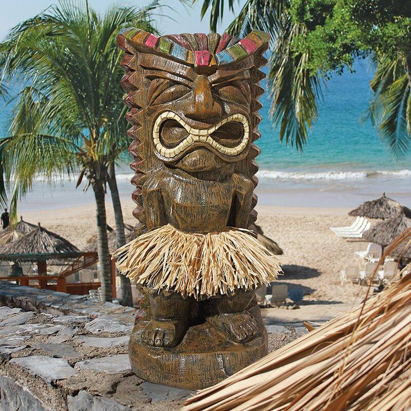 Design toscano pau hana hawaiian tiki totem statue reviews wayfair pau hana hawaiian tiki totem statue stopboris Gallery