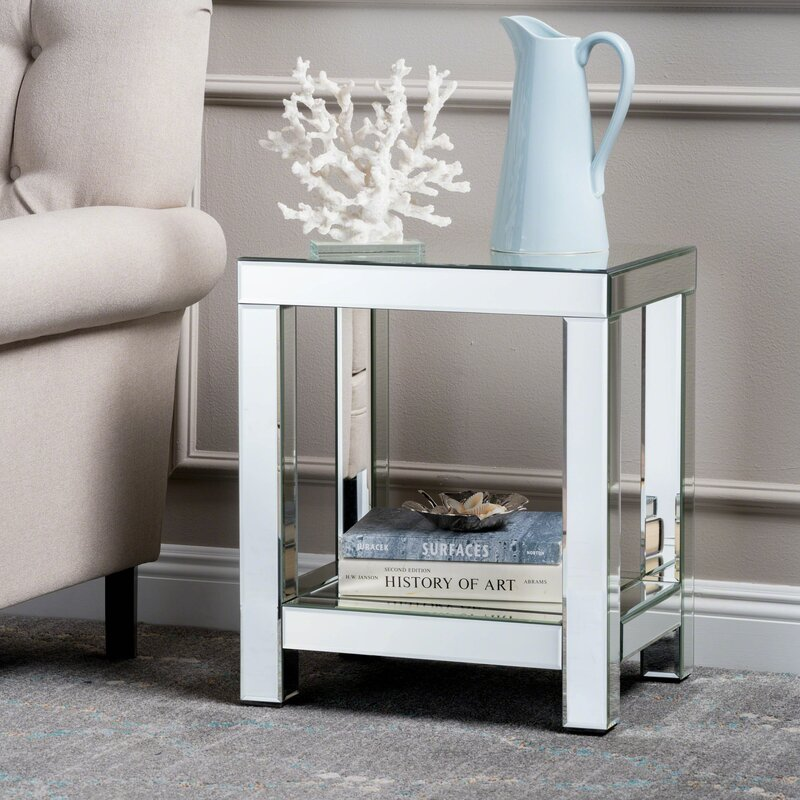 Lavanna Mirror End Table