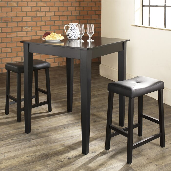 Crosley Dylan 3 Piece Pub Table Set & Reviews | Wayfair.ca