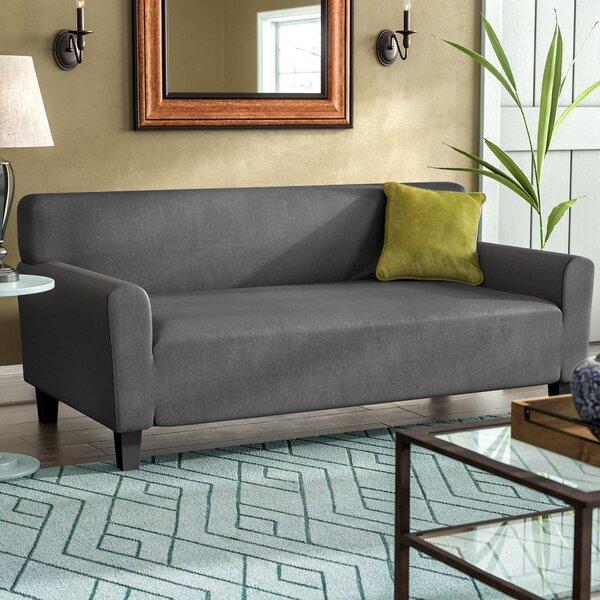 Red Barrel Studio Box Cushion Sofa Slipcover U0026 Reviews | Wayfair