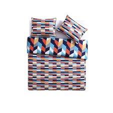 Geometric Reversible Comforter Set
