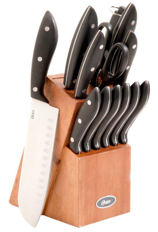 Oster Oster Huxford 14 Piece Knife Set & Reviews | Wayfair