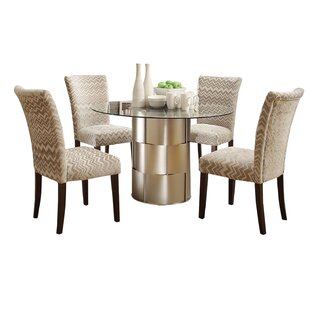 Cliburn 5 Piece Breakfast Nook Dining Set Great Reviews