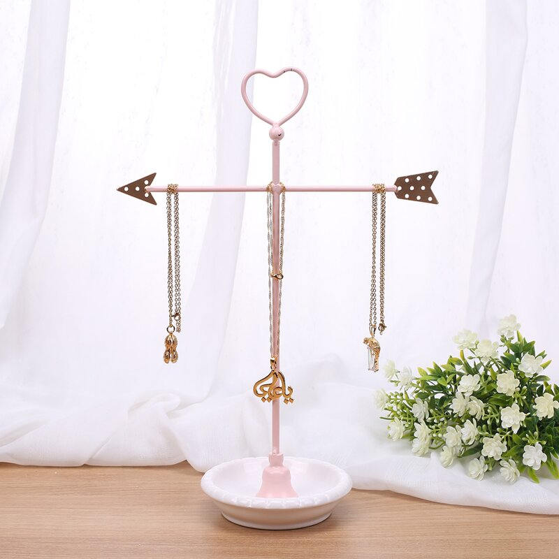 Ikee Design Metal Arrow Jewelry Display and Jewelry Stand Hanger