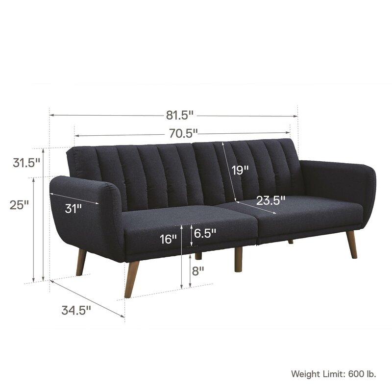 Novogratz Brittany Convertible Sofa