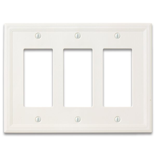 Questech Cornice Insulated Triple Decorator Wall Plate Cover Wayfair