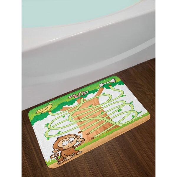 Monkey Bathroom Rug Wayfair