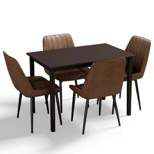 Bridgeman 5 Piece Dining Set