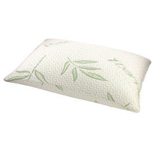 Rayon from Bamboo Memory Foam Fiber Standard Pillow by Alwyn Home