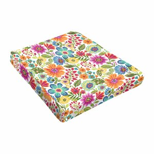 Paxton Floral Outdoor Dining Chair Cushion