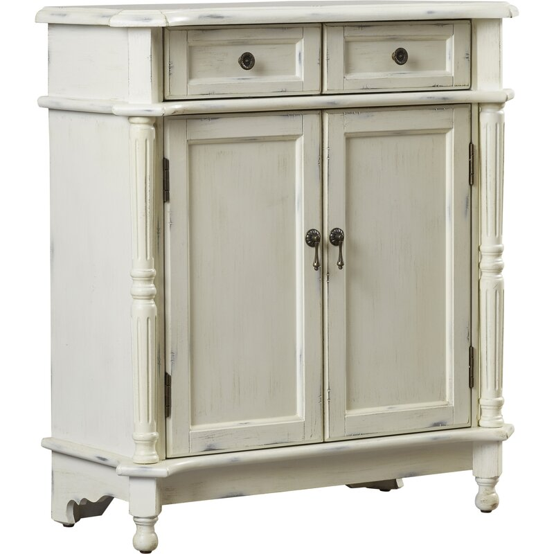 Hand Painted Kitchen Cabinets: Attwood Hand Painted 2 Drawer Accent Cabinet & Reviews