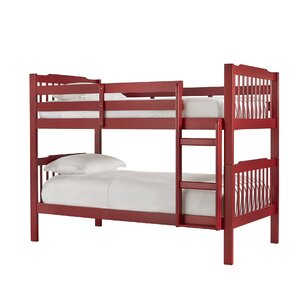 Red Bunk & Loft Beds Kids Bedroom Furniture