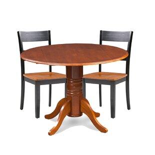 Cordell 3 Piece Drop Leaf Breakfast Nook Solid Wood Dining Set Find