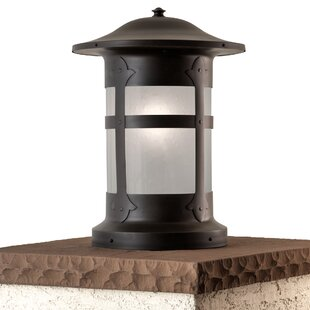 outdoor column mount lighting fixtures patio milo charming column 1light pier mount light outdoor wayfair