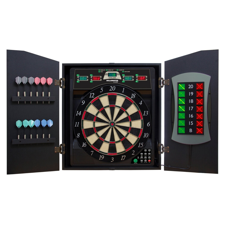 Arachnid Cricketmaxx 5.0 Dartboard Cabinet Set U0026 Reviews   Wayfair