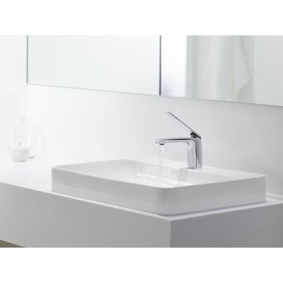 Kohler Vox Rectangular Vessel Bathroom Sink with Overflow   Wayfair