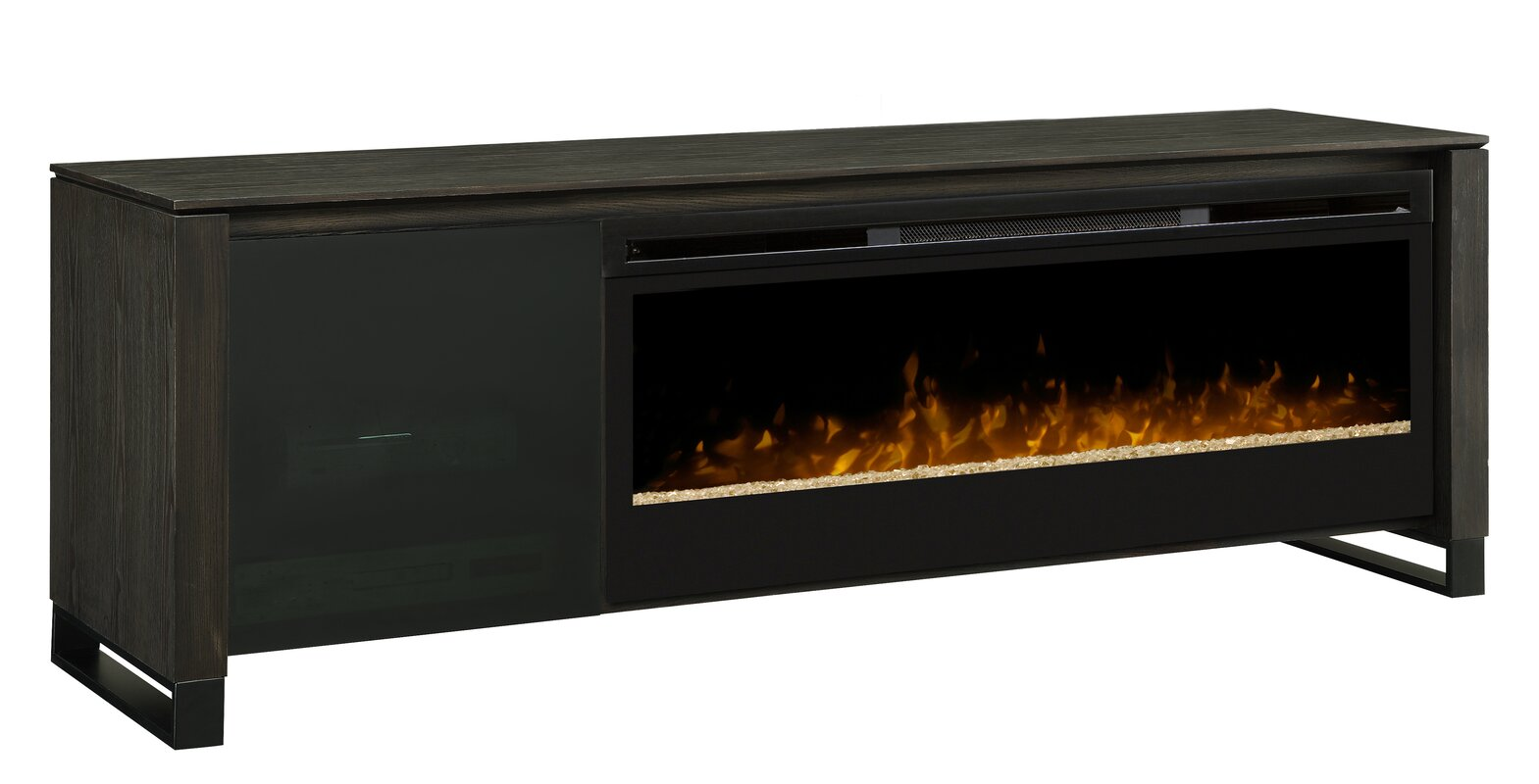 Dimplex Howden 75 Quot Tv Stand With Fireplace Amp Reviews