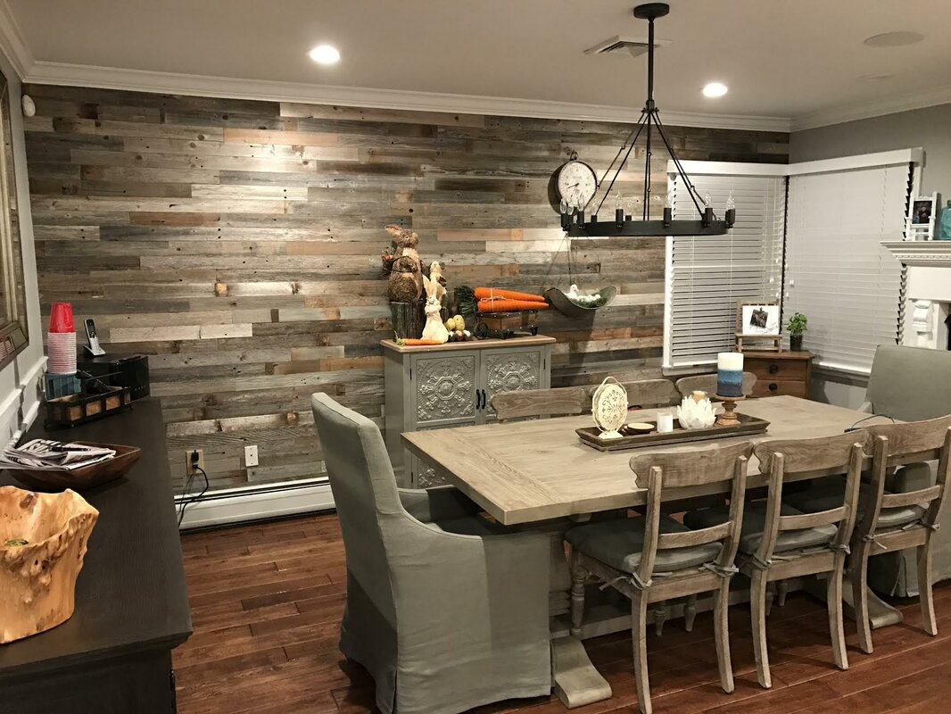 Plankandmill 3 Quot Reclaimed Barnwood Peel And Stick Wall