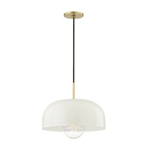 Honore 1-Light Dome Pendant  sc 1 st  AllModern & Modern u0026 Contemporary Large Dome Pendant Light | AllModern