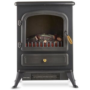 Free-Standing Stove Heater Electric Fireplace by VonHaus