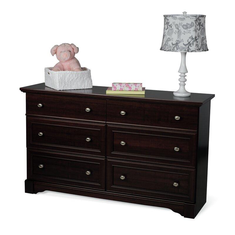Child Craft Bradford 6 Drawer Double Dresser & Reviews