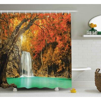 East Urban Home Aquatic Decor Shower Curtain | Wayfair