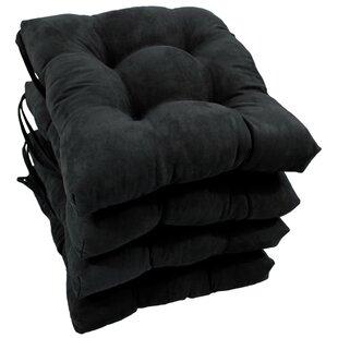 Black White Chair Seat Cushions You Ll Love Wayfair