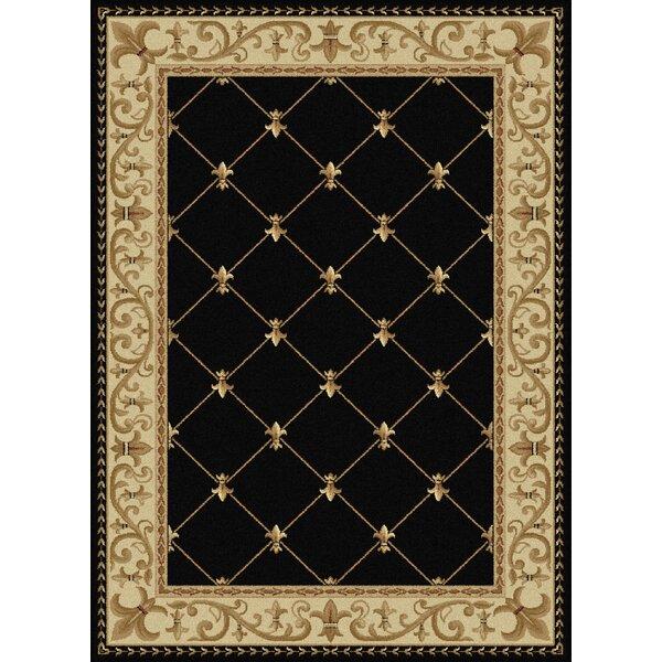 Astoria Grand Clarence Black Gold Area Rug Reviews Wayfair