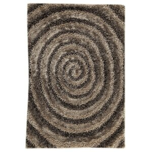 Landscape Hand-Tufted Brown/Beige Area Rug
