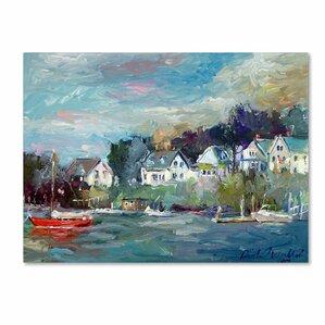 Dock Canvas Print