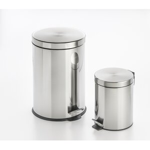 stepon 3 gallon stainless steel trash can